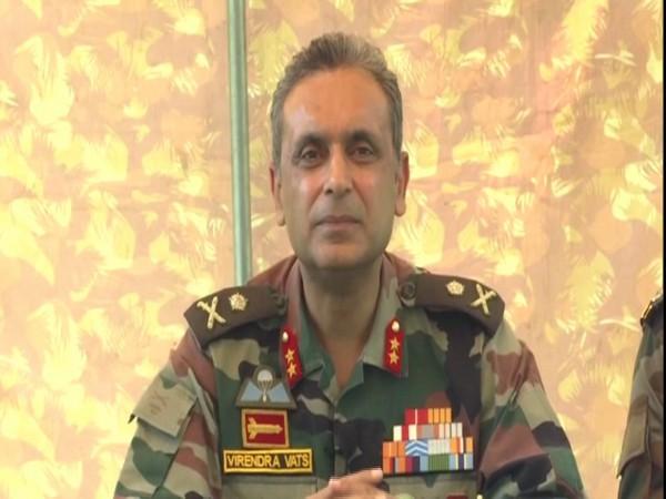 Major General Virendra Vats, GOC, 19 Infantry Division