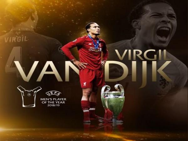 Liverpool defender Virgil van Dijk (Photo/ ChampionsLeague Twitter)