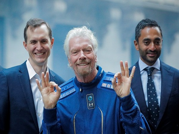 Virgin Galactic's owner, Branson