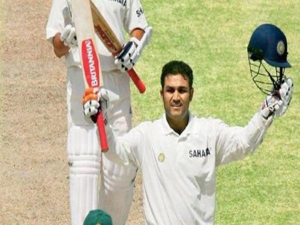 Former India batsman Virender Sehwag (Photo/VVS Laxman Twitter)