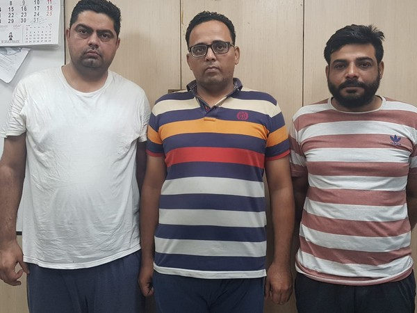 Three cousins were arrested in Delhi on Wednesday for visa fraud
