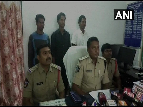 Three Naxals surrender before police in Visakhapatnam