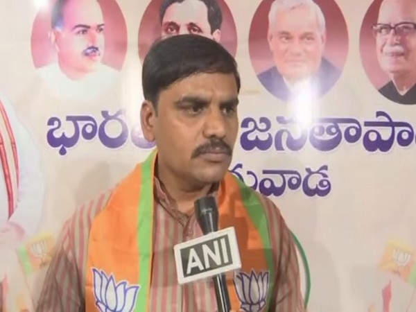 Andhra Pradesh BJP vice president Vishnu Vardhan Reddy. Photo/ANI