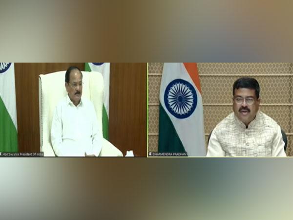 Vice-President calls upon India to be 'Vishwagurus in Education' at World Universities Summit
