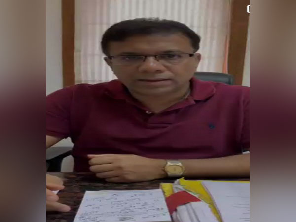 Goa Health Minister Vishwajit Rane [Photo/ANI]