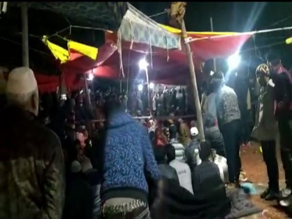 Visual from Khureji, Delhi where some locals staged sit-in against CAA in January (Photo/ANI)