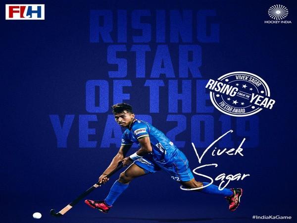 Vivek Sagar Prasad (Photo/Hockey India Twitter)