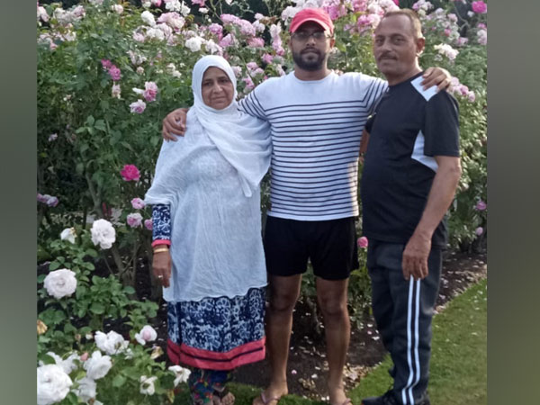 Arif Vohra and his son Rameez Vohra, the two family members missing after the terror attacks in Christchurch.