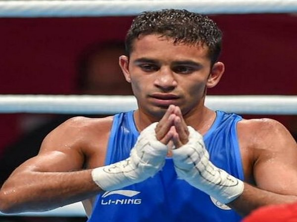 Boxer Amit Panghal (Photo/ Amit Panghal Twitter)