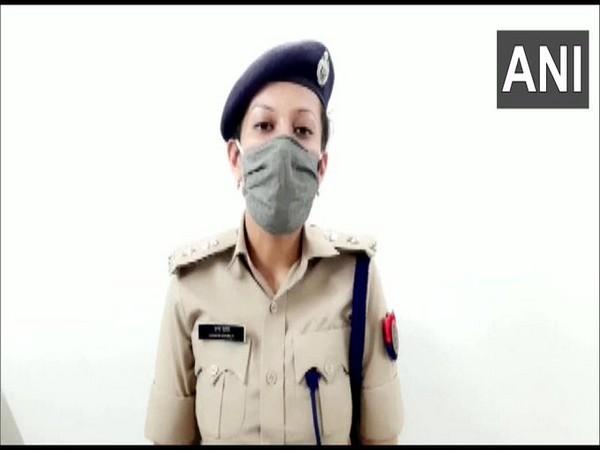 Vrinda Shukla, DCP (Women Security) Gautam Buddh Nagar talking to reporters on Thursday. Photo/ANI