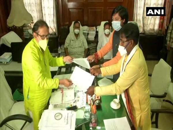 Lok Sabha MPs Jagannath Sarkar, Nisith Pramanik resigns as MLAs. (Photo/ ANI)