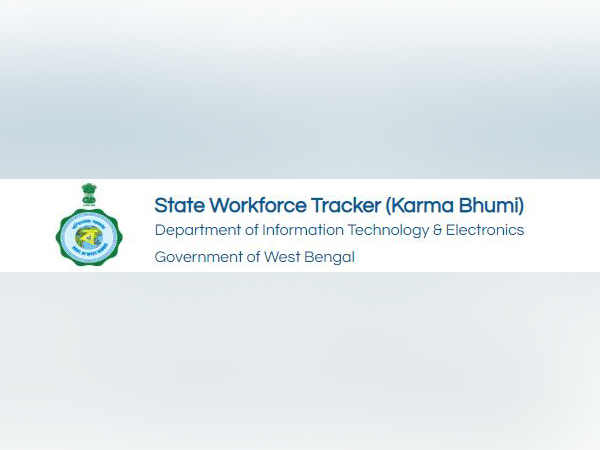 Snippet from the portal Karma Bhumi launched by West Bengal government