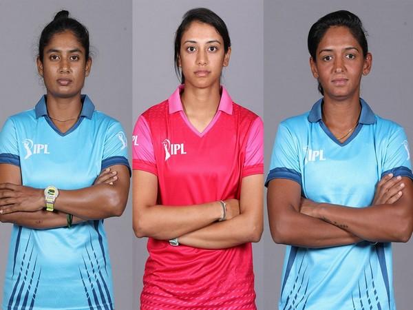 Mithali Raj, Smriti Mandhana, and Harmanpreet Kaur (Photo/ IPL Twitter)