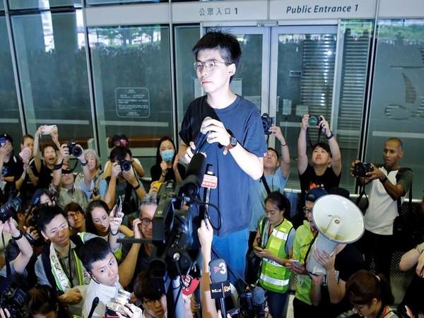 Leading pro-democracy activist Joshua Wong