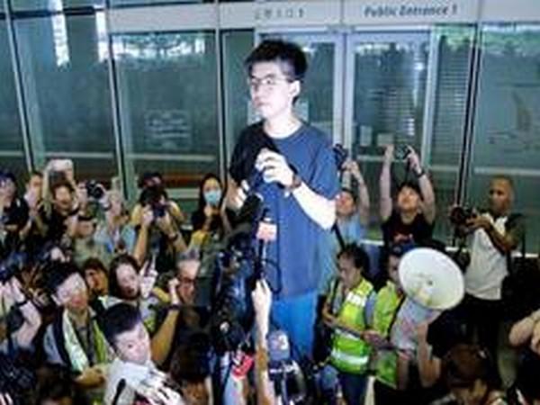 HK activist Joshua Wong (File pic)