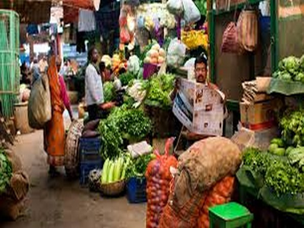 The food index inflation stood at 5.78 per cent during the month from 6.92 per cent in September 2020.