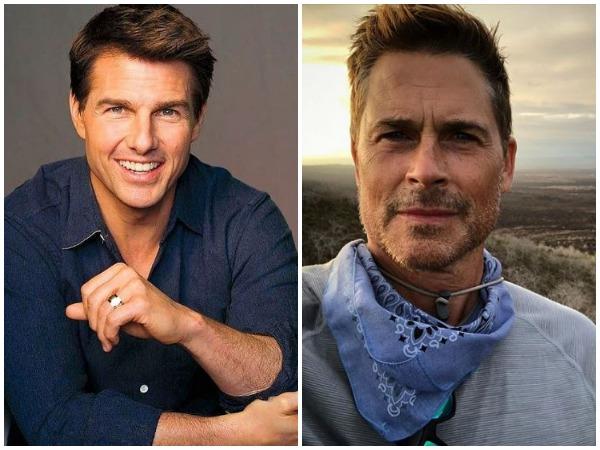 Tom Cruise, Rob Lowe (Image courtesy: Instagram)