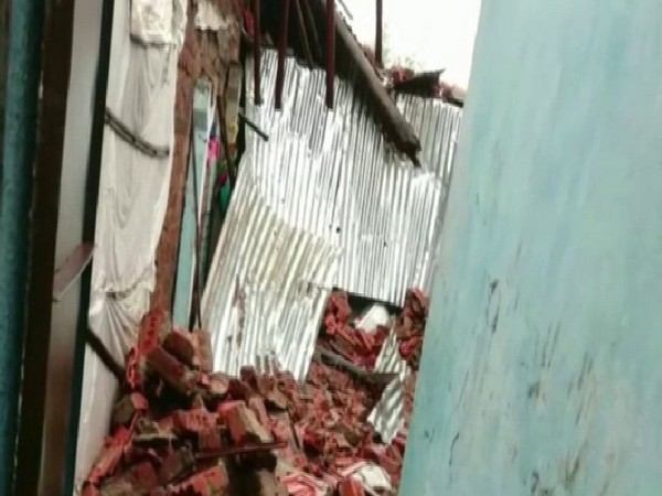 Three girls died due to wall collapse in Bharuch on Sunday