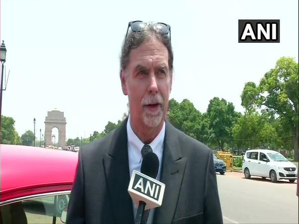 German Ambassador to India Walter J Lindner