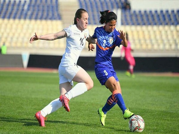 Indian women's team suffer narrow defeat against Belarus. (Photo/ AIFF website)
