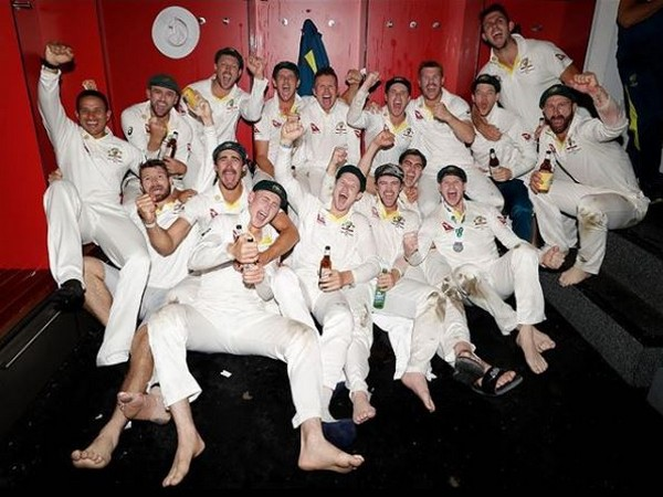 Australia after winning the fourth Ashes Test match. (Photo/ David Warner Instagram)