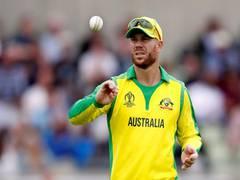 Australian cricketer David Warner