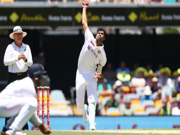 India spinner Washington Sundar (Photo/ ICC Twitter)