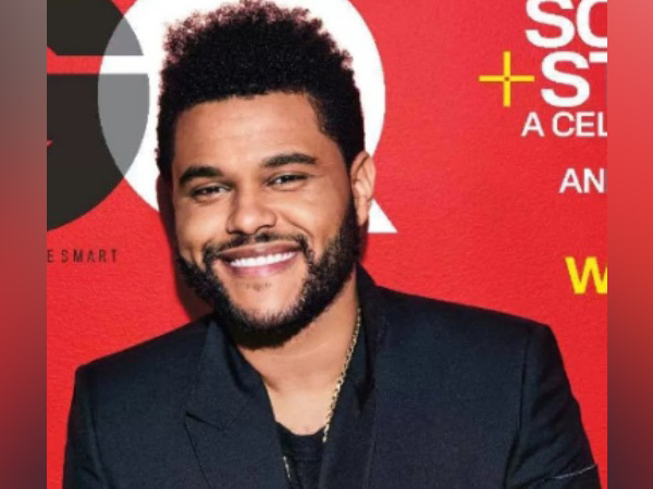 Hollywood singer The Weeknd
