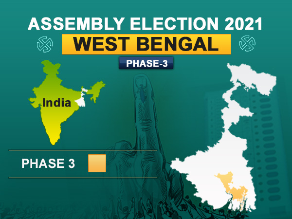 A total of 618 companies of security forces have been deployed in the constituencies ahead of third phase of West Bengal assembly elections.