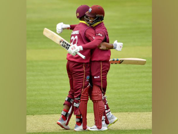 West Indies players Shai Hope and John Campbell (Photo/West Indies Cricket Twitter)