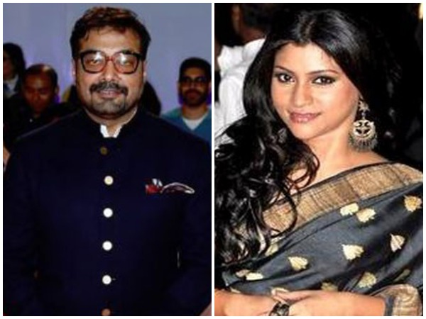 Filmmaker Anurag Kashyap and actress Konkona Sen Sharma