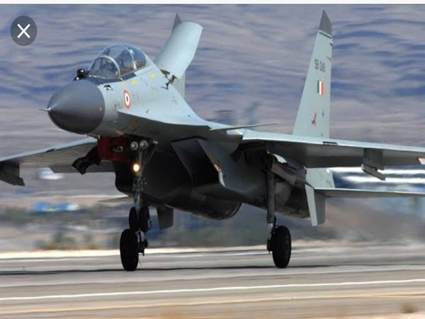 Su-30 MKI combat aircraft of Indian Air Force taking off from an airbase. (File photo)