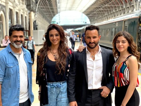 Director Nitin Kakkar, Tabu, Saif Ali Khan and Alaia F