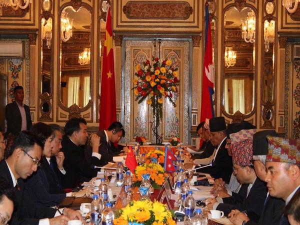 The Nepal-China bilateral meeting underway in Kathmandu on Monday