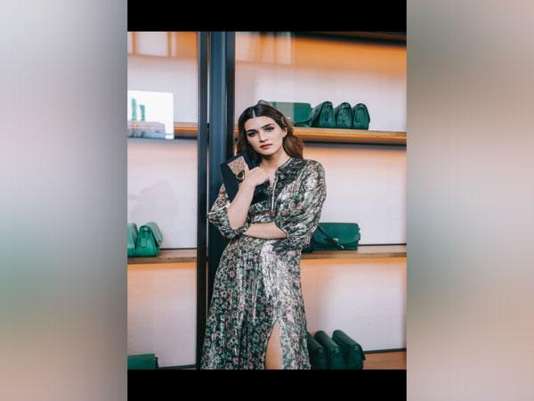 Kriti Sanon showcasing the Coach Spring Summer 2020 collection at New York Fashion Week