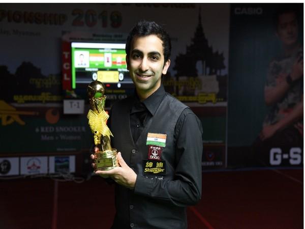 Indian billiards and snooker player Pankaj Advani