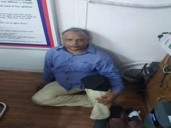 Sharikh Akhatar, was arrested by Delhi police for sending a false bomb blast message. Photo/ANI