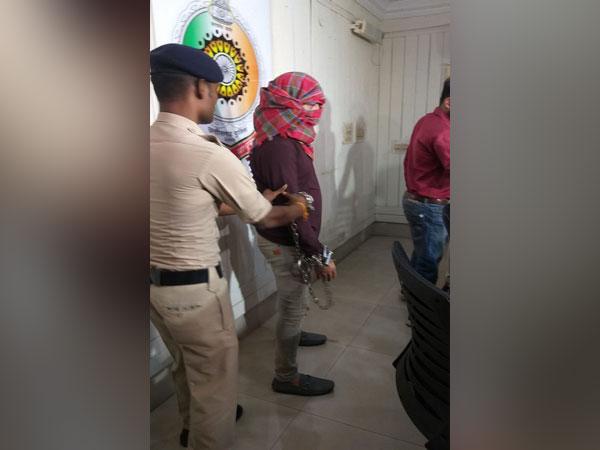 SIMI terrorist Azharuddin aka 'Chemical Ali'arrested by Chhattisgarh Police [Photo/ANI]