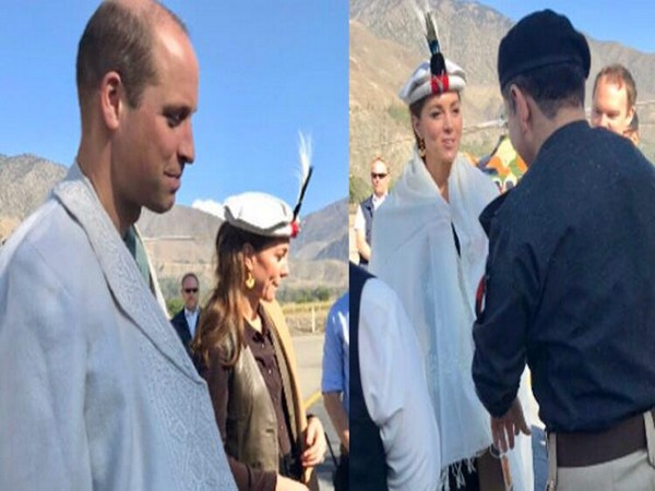 Duke and Duchess of Cambridge, Prince William and Kate Middleton visiting Chitral, Pakistan