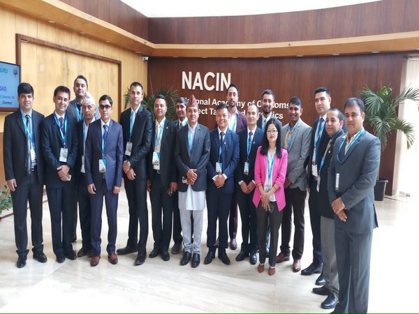 Nepal government officials begin their training in India on countering terror financing on Monday.