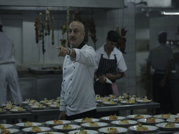 Anupam Kher from a still in the film