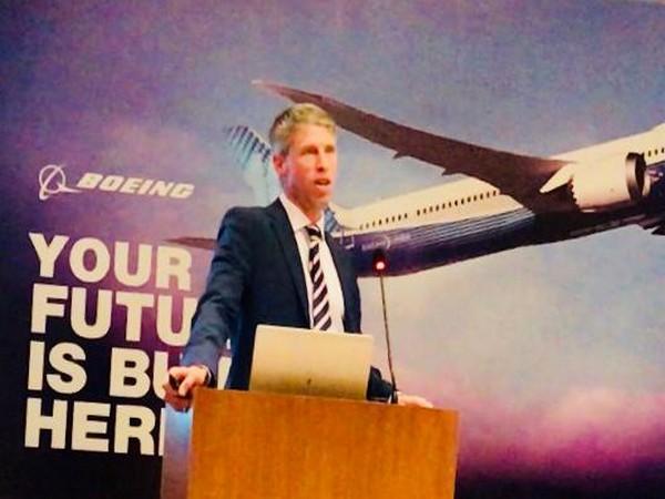 Aerospace giant Boeing Company's vice president, Darren Hulst.