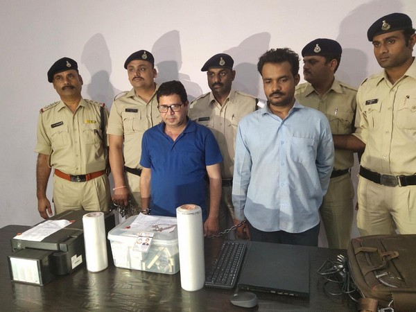 Indore Police arrested two fraudsters on Sunday.