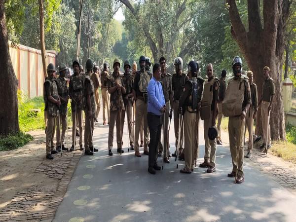 Police at Banaras Hindu University, Varanasi