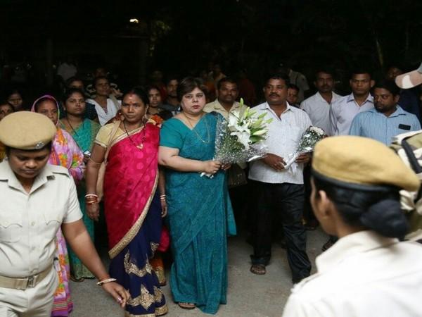 Sikta Pati after joining Biju Janata Dal on Saturday