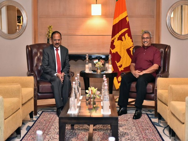 President of Sri Lanka Gotabaya Rajapaksa held a meeting with National Security Advisor Ajit Doval