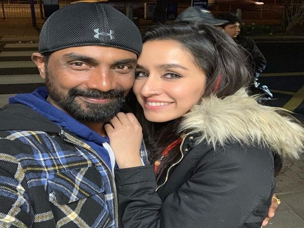 Choreographer Remo D'Souza and actor Shraddha Kapoor