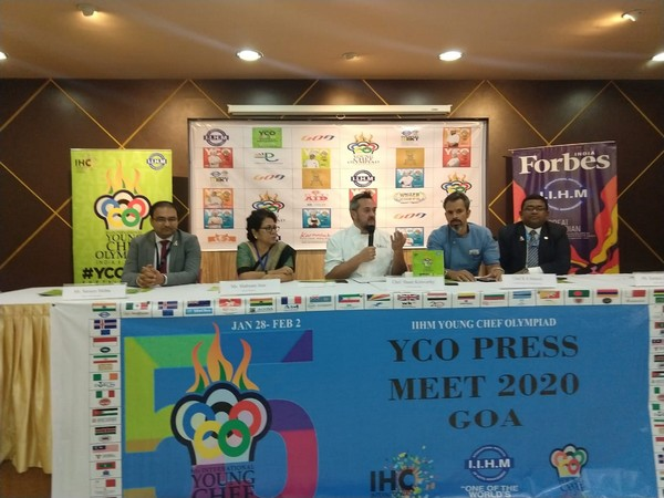 The organisers of the Young Chef Olympiad 2020 on Friday shared details with the press at a conference. Photo/ANI