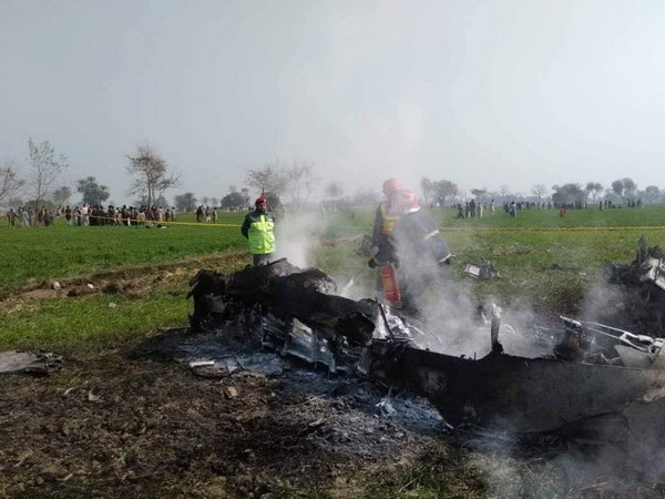 The trainer jet of Pakistan Air Forces got crashed in the region on Friday