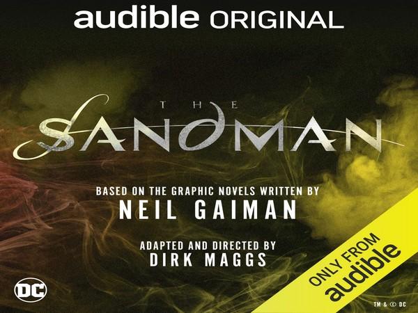 Poster of the audible original 'The Sandman'